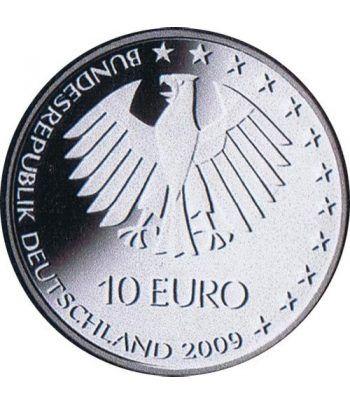 moneda Alemania 10 Euros 2009 Berlin 09.  - 2
