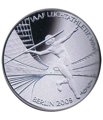 moneda Alemania 10 Euros 2009 Berlin 09.  - 1