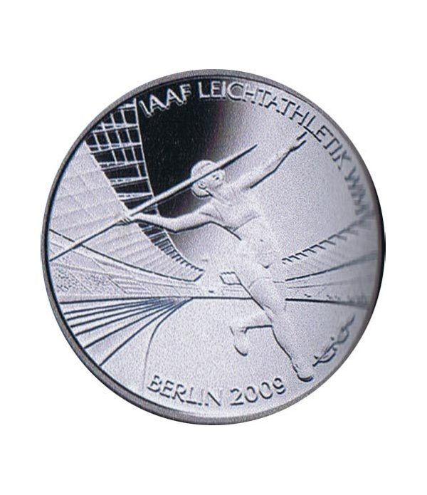 moneda Alemania 10 Euros 2009 Berlin 09.  - 1