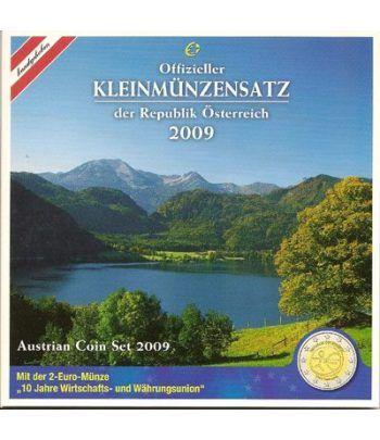 Cartera oficial euroset Austria 2009  - 2