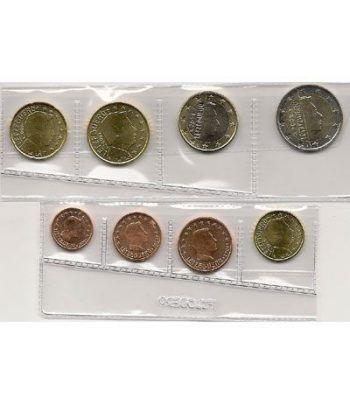 monedas euro serie Luxemburgo 2009  - 2