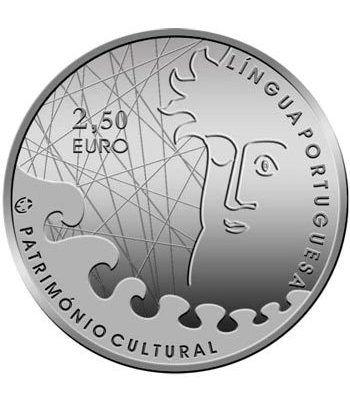 Portugal 2.5 Euros 2009 Patrimonio Cultural. Literatura.  - 1