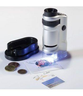 LEUCHTTURM Microscopio de bolsillo. 20 a 40 aumentos. Lupas - 2