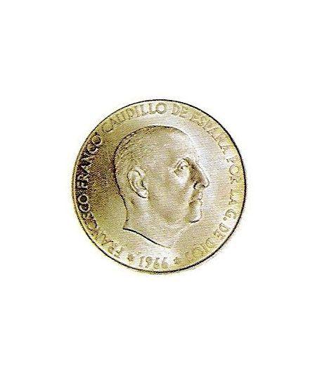 Moneda de plata 100 pesetas Franco 1966 *19-68 Madrid. MBC  - 1