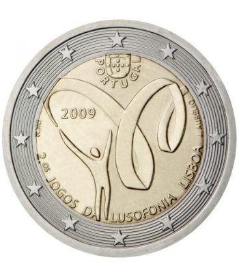 moneda conmemorativa 2 euros Portugal 2009.  - 2