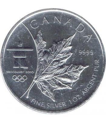 Canada 5$ (2008) Vancouver 2010 - Plata  - 1