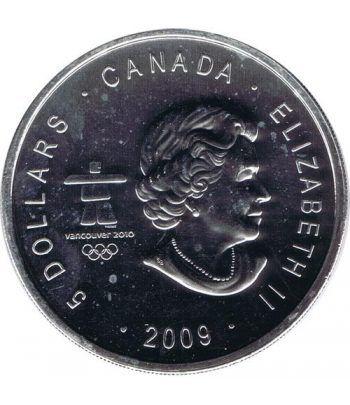 Canada 5$ (2009) Vancouver 2010 - Plata  - 2