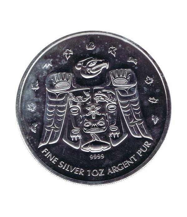 Canada 5$ (2009) Vancouver 2010 - Plata  - 1