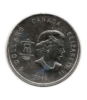 Canada 5$ (2010) Vancouver 2010 - Plata  - 2