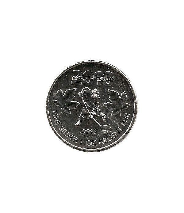 Canada 5$ (2010) Vancouver 2010 - Plata  - 1
