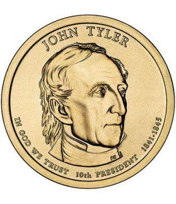 E.E.U.U. 1$ (2009) 10º Presidencial John Tyler (2cecas)  - 2