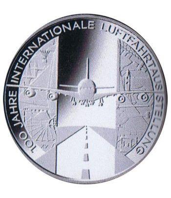 moneda Alemania 10 Euros 2009 D. Aviación.  - 4