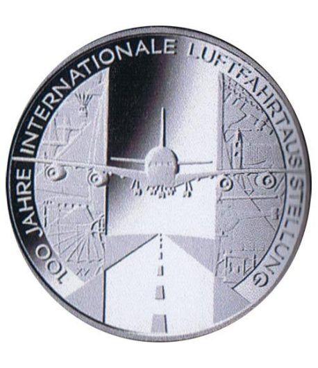moneda Alemania 10 Euros 2009 D. Aviación.  - 1