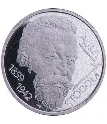 moneda Eslovaquia 10 Euros 2009 Aurel Stodola  - 1