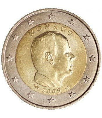 monedas euro serie Monaco 2009 (moneda de 2 euros)  - 2