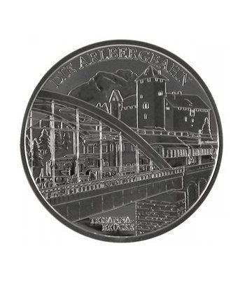 moneda Austria 20 Euros 2009 Tren electrico (estuche proof)  - 2