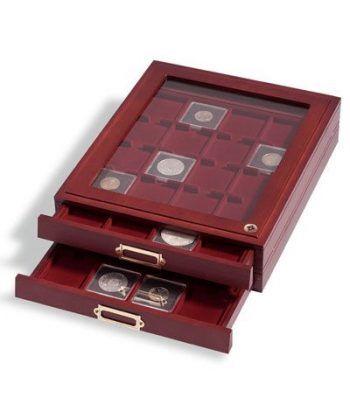 LEUCHTTURM Capsulas QUADRUM 33mm. (10) Capsulas Monedas - 4