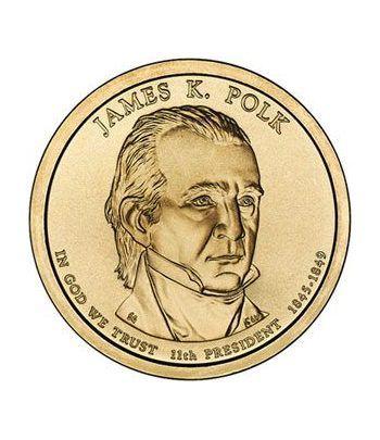 E.E.U.U. 1$ (2009) 11º Presidencial James K. Polk (2cecas)  - 2