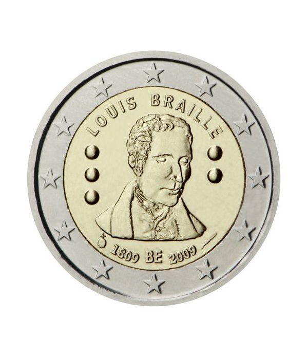 moneda conmemorativa 2 euros Belgica 2009.  - 2