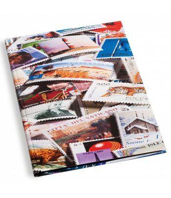 LEUCHTTURM cartulina extra blanca (23x30.5 cm) 30 hojas stamp Clasificadores sellos - 2