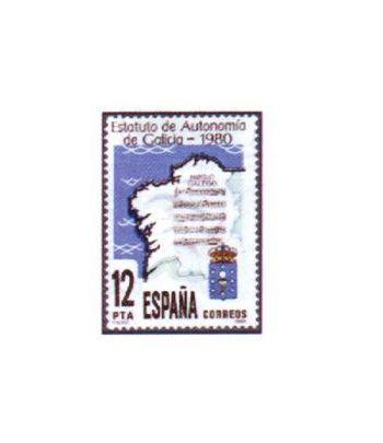 2611 Promulgación del Estatuto de autonomía de Galicia  - 2