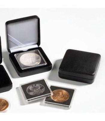 Estuche monedas metal NOBILE para 1 cápsula QUADRUM. Estuche Monedas - 2