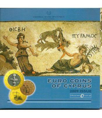 Cartera oficial euroset Chipre 2009  - 2