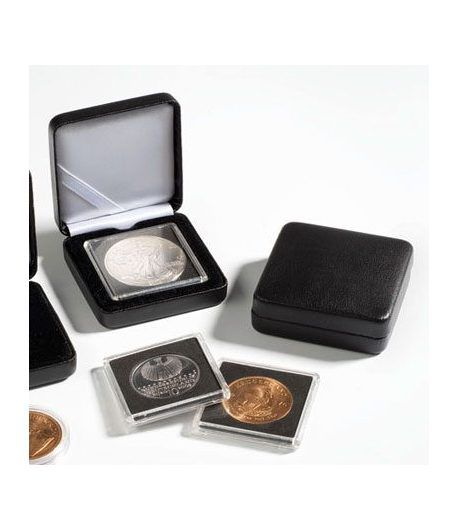 Estuche monedas metal NOBILE para capsula redonda 30mm. Estuche Monedas - 2