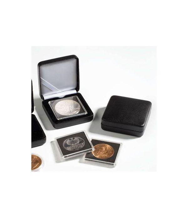 Estuche monedas metal NOBILE para capsula redonda 32mm. Estuche Monedas - 2