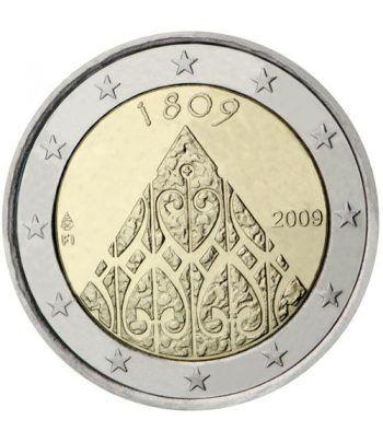 moneda conmemorativa 2 euros Finlandia 2009.  - 2