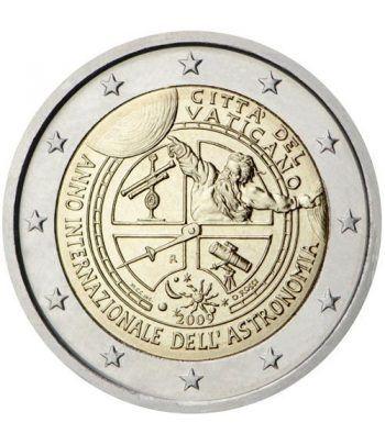 moneda conmemorativa 2 euros Vaticano 2009. Estuche Oficial.  - 2