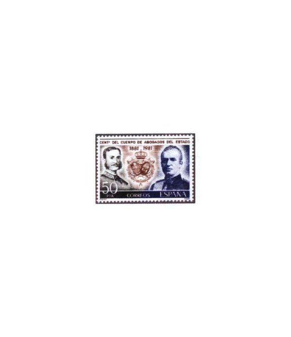 2624 Centenario del Cuerpo de abogados del Estado  - 2