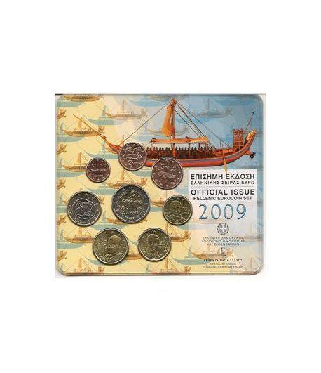 Cartera oficial euroset Grecia 2009  - 2
