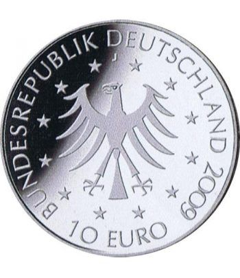moneda Alemania 10 Euros 2009 J. Marion Gräfin.  - 2