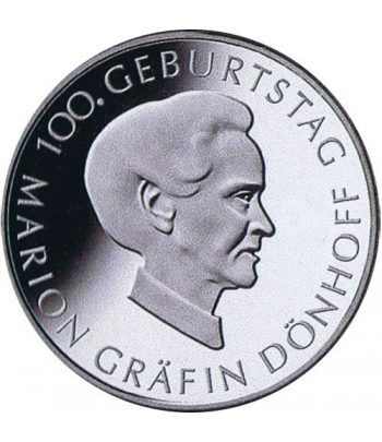 moneda Alemania 10 Euros 2009 J. Marion Gräfin.  - 4
