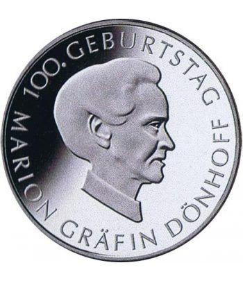 moneda Alemania 10 Euros 2009 J. Marion Gräfin.  - 1