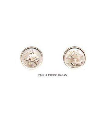 10 Pesetas. (1996) Madrid - (EMILIA PARDO BAZÁN) SC  - 2