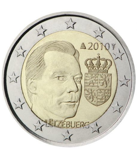 moneda conmemorativa 2 euros Luxemburgo 2010.  - 2