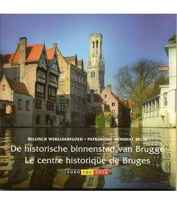 Cartera oficial euroset Belgica 2010  - 2