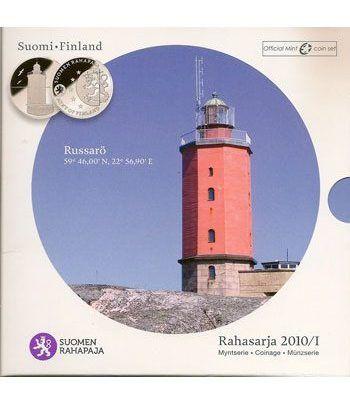 Cartera oficial euroset Finlandia 2010  - 2