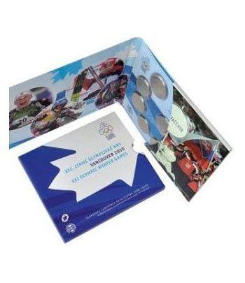 Cartera oficial euroset Eslovaquia 2010  - 2