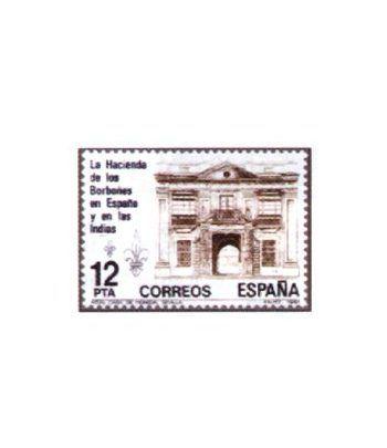 2642 La Hacienda de los Borbones en España y en las Indias  - 2
