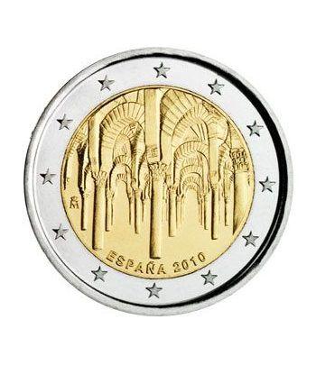 moneda conmemorativa 2 euros España 2010 Mezquita Cordoba.  - 2