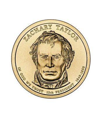 E.E.U.U. 1$ (2009) 12º Presidencial Zachary Taylor (2cecas)  - 2