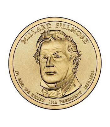 E.E.U.U. 1$ (2010) 13º Presidencial Millard Fillmore (2cecas)  - 2