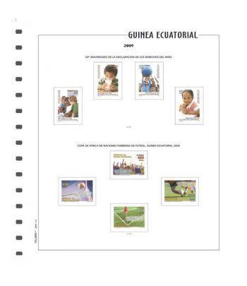 FILOBER Color Guinea 2003 (montado con estuches) Hojas FILOBER Color - 2