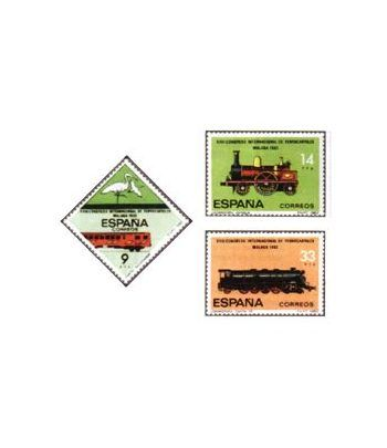 2670/72 XXIII Congreso Internacional de Ferrocarriles  - 2