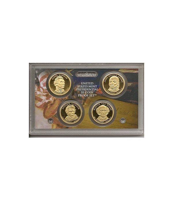 E.E.U.U. 1$ (2008) Presidencial proof set  - 2