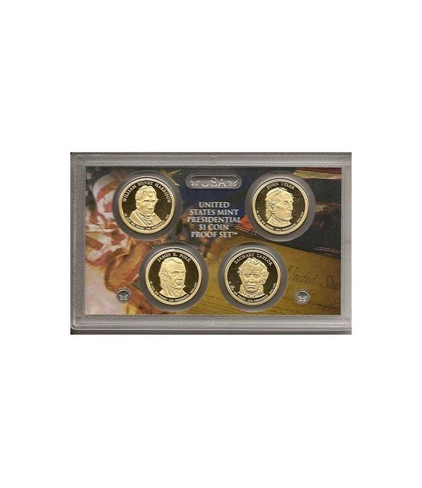 E.E.U.U. 1$ (2009) Presidencial proof set  - 2