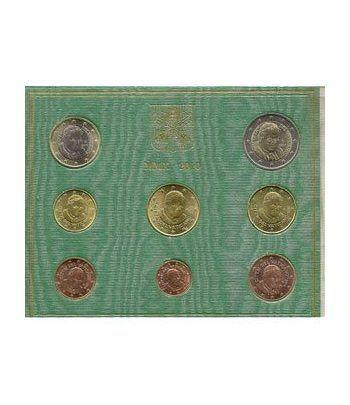 Cartera oficial euroset Vaticano 2010  - 2